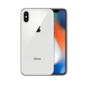 iphone X silver new